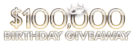 $100,000 Birthday Giveaway